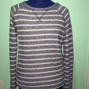 Dark blue and light gray Merona sweater